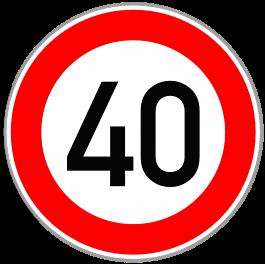40kmh